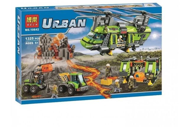 Конструктор 10642 Большой транспортный вертолет Вулкан ан. LEGO 60125