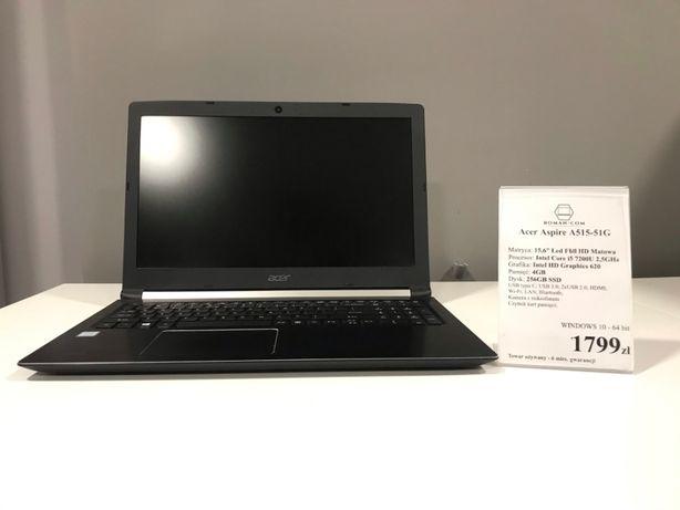 Acer Aspire A515-51G(Intel Core i5 - 7200U 2,5GHz/ 256GB SSD)