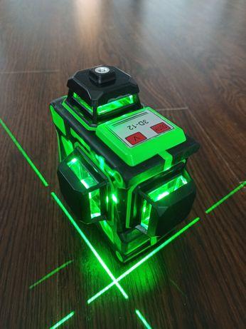 Лазерный уровень Hilda 3D 12 линий зеленая линия
