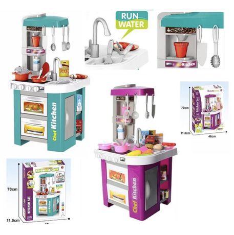 Детская кухня,Интерактивная кухня со звуком, светом и ВОДОЙ