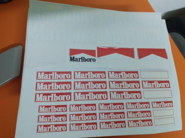 Autocolantes Marlboro