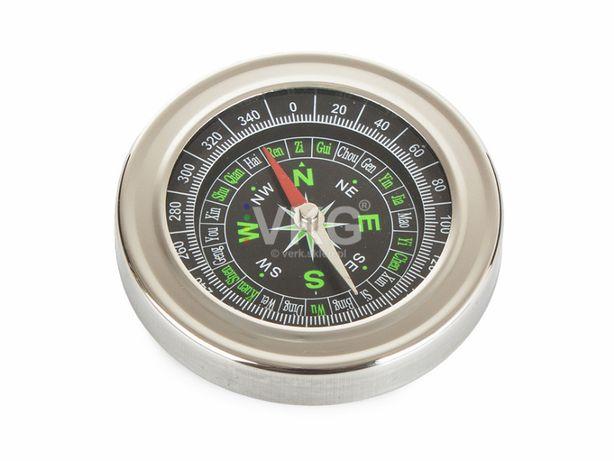 Kompas Metalowy Busola Kieszonkowy Turystyczny 14197