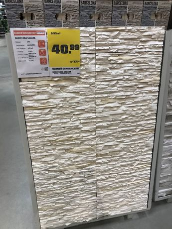 OBI. Kamień Barcelona sahara. Obniżka ceny z 40,99 na 26,50