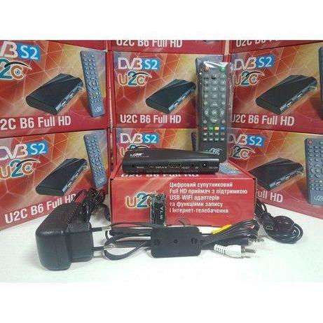 Спутниковый тюнер U2C B6 Full HD Mpeg 4 (UCLAN B6 Full HD) Прошит