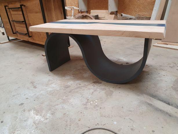 Stół ze starego drewna dębowego,monolitu