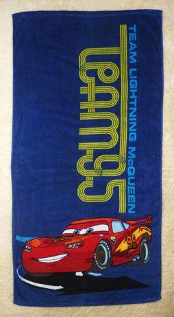 Большое махровое полотенце Маквин Тачки Cars Disney Pixar 100% хлопок