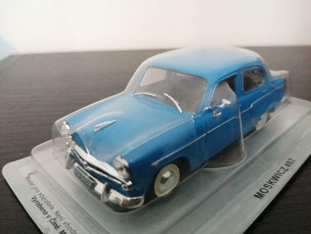 model samochodu MOSKWICZ 407