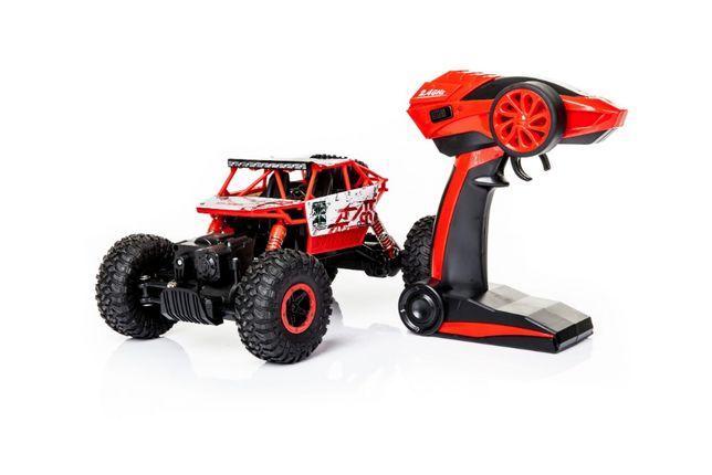 HIT! Zabawka Samochód Terenowy RC 4X4 ZDALNIE STEROWANY Różne Koloryt