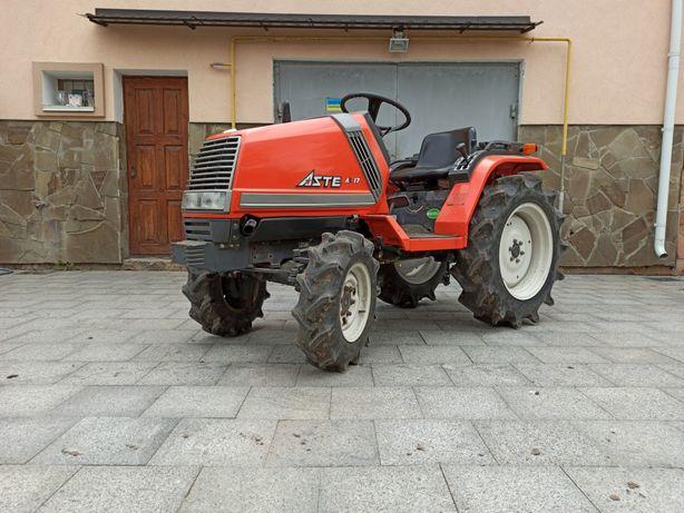 Продам трактор KUBOTA ASTE A-17+фреза