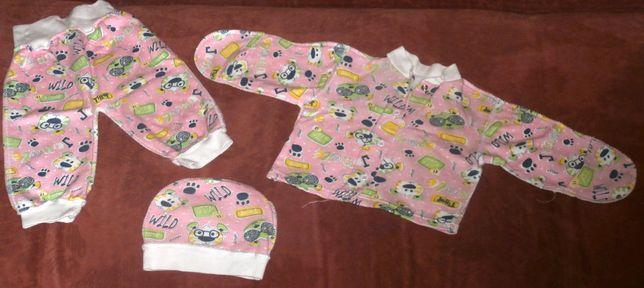 Комплект для новонароджених, 1-3 місяці