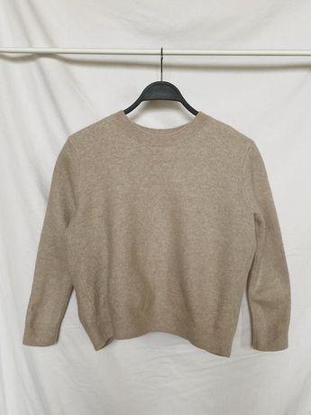 Шерстяной свитер cos с бантом оригинал