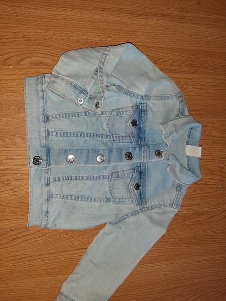 Katana kurtka jeansowa r. 92 H&M