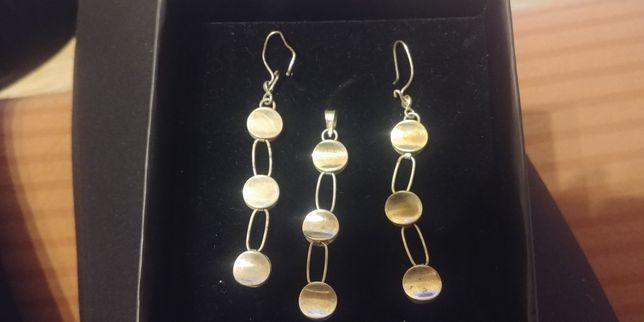 Komplet biżuterii srebrnej pr 925
