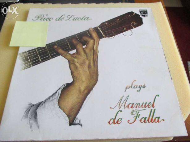 Paco de lucia - plays manuel de falla (lp vinil)