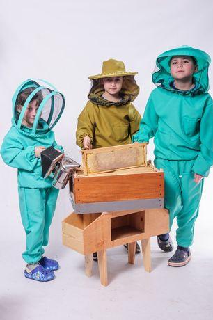Дитячий костюм для пчеловода, одежда, пасічника, бджоляра