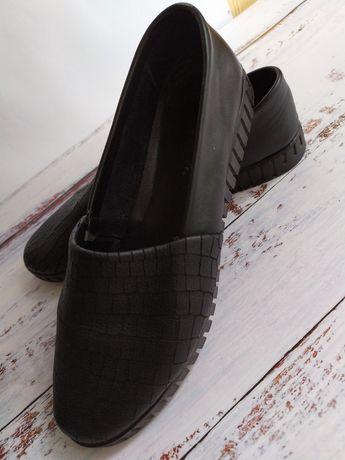 Балетки, слипоны, туфли. Кожа. 37 размер. 900 руб