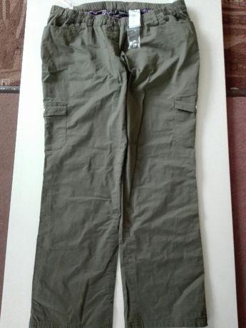 Spodnie,ocieplane, jeansy na flaneli r 46 (XXXL)