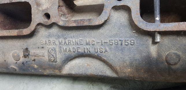 OMC, Mercruiser kompletny kolektor wydechowy do silnika 6cyl. 165hp