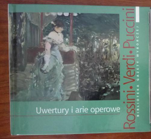 Uwertury i arie operowe Rossini Verdi Puccini muzyka klasyczna poważna