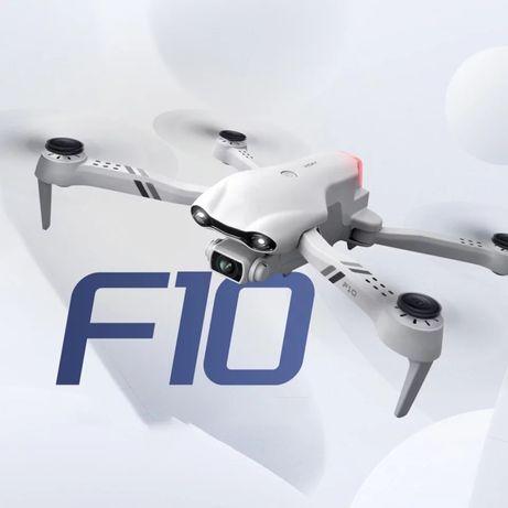 Dron F10 GPS 2km zasięg 2×kamera 4K 2×bateria Powrót Śledzenie