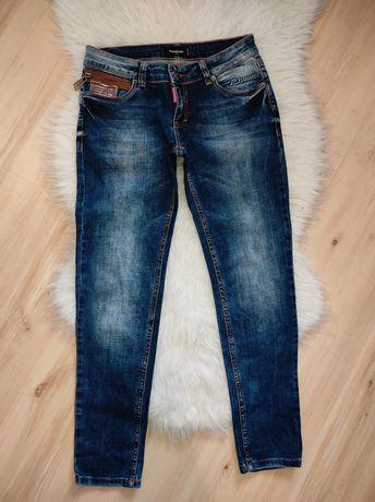 Jeansy spodnie do kostek Disquared2 M