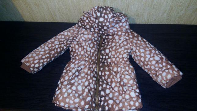 Продам демисизонную куртку H&M на девочку