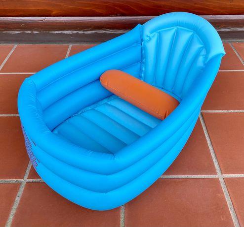 Banheira bebé insuflavel