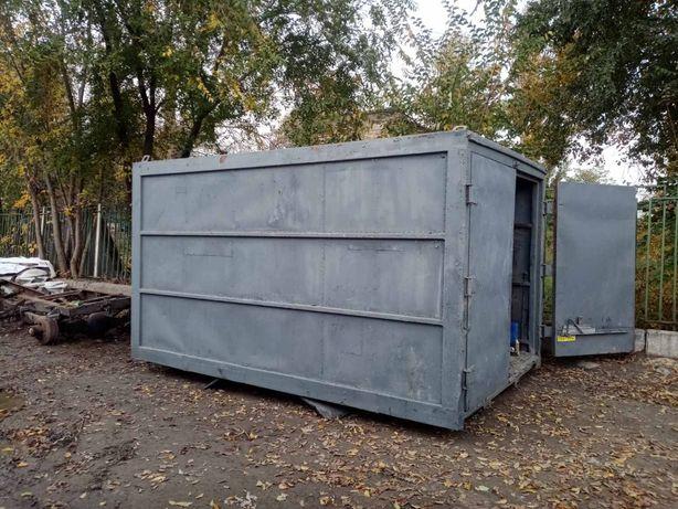 Будка вагончик для дачи или под склад с машины Зил Газ 52,53,3307,3309