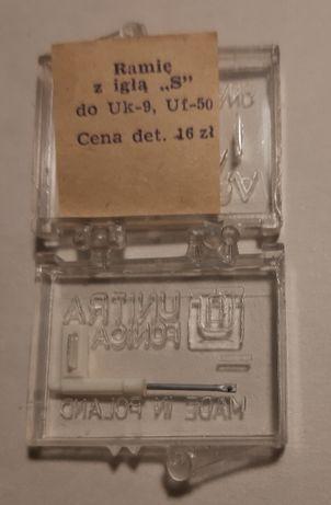 igła do gramofonu nieużywana do wkładki UF50