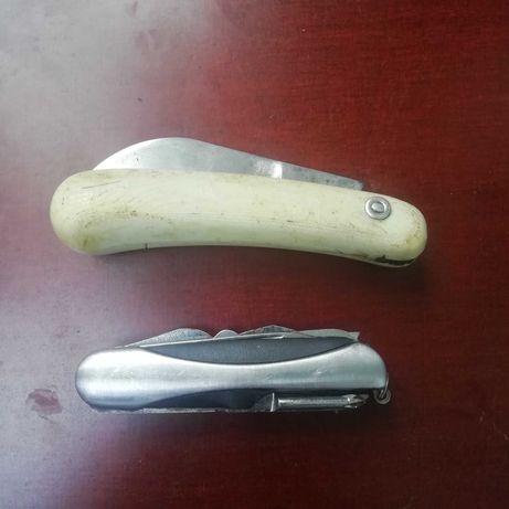 Нож складной stainless steel на 8 функций. Садовый нож  СССР.