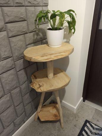 Drewniany stoliczek HANDMADE