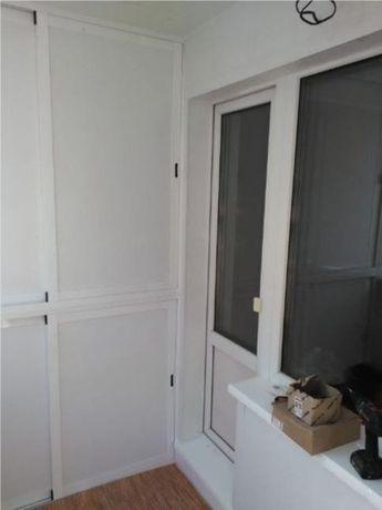 Монтаж, установка ремонт окон, балконов, откосы