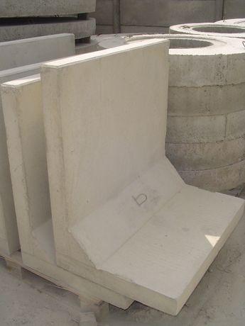 mur oporowy typu l, elka betonowa