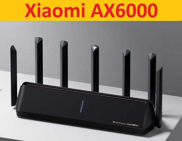 Акция! Xiaomi Mi Router AX6000 2,5 Гбит/с, WiFi 6E +Гарантия за 3350