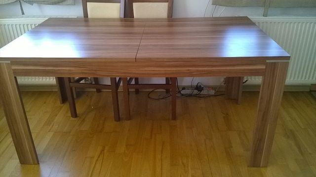 Stół rozkładany + krzesła