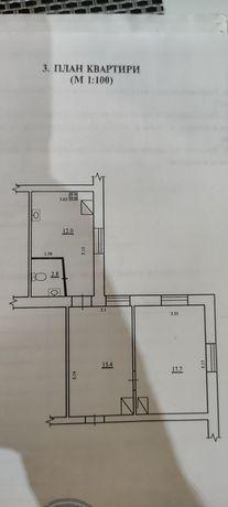 Двокімнатна квартира в центрі міста
