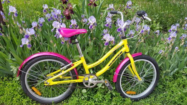 Велосипед для девочки 6-10 лет Winner 20 колеса