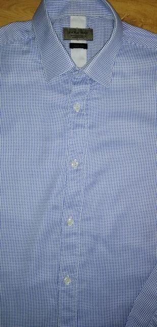 Рубашка zara colins S. 300 руб