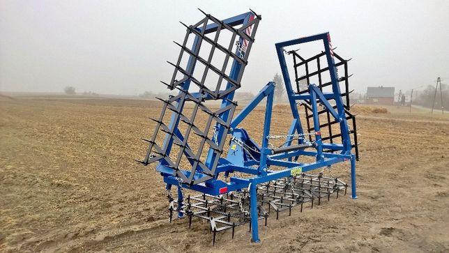 Brony Brona polowa polowe ciężkie hydrauliczne składane