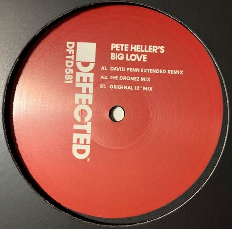 Pete Heller ‎– Big Love (novo / mint)