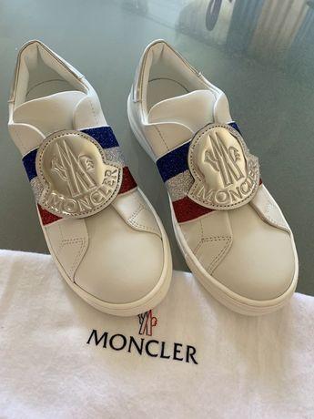 Кеды кроссовки Moncler оригинал Gucci Dolce & Gabanna