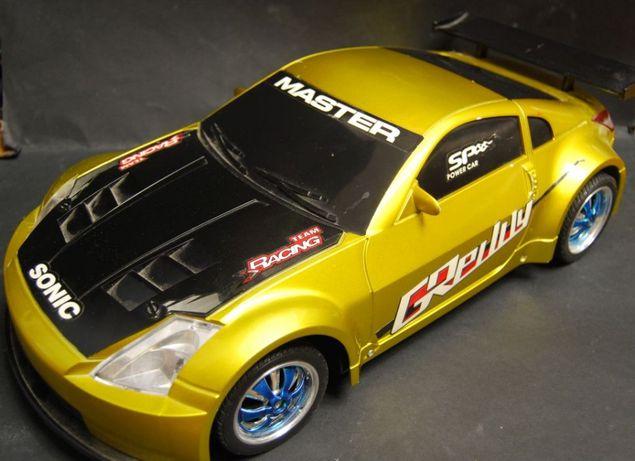 Nissan RC 57 cm światło dzwięk wibracje PILOT DUZY