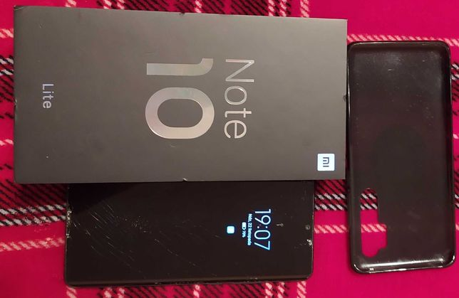 Xiaomi Mi Note 10Lite Midnight Black
