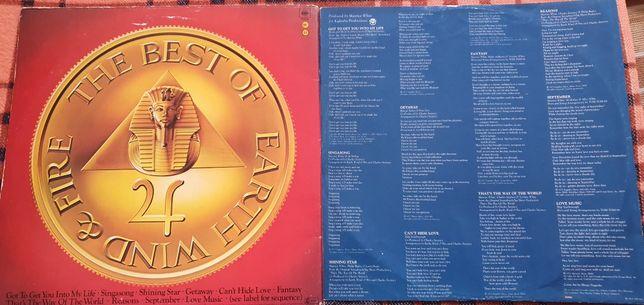 The Best Of Earth Wind & Fire LP płyta winylowa BDB-