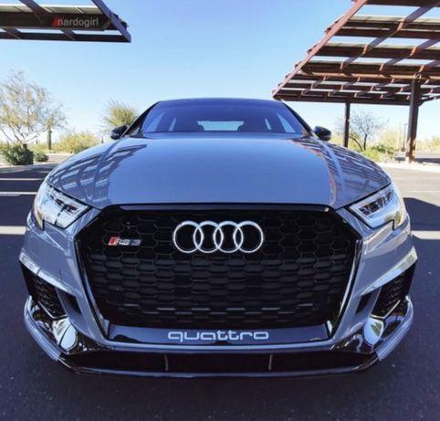Lip frontal Audi RS3 NOVO!