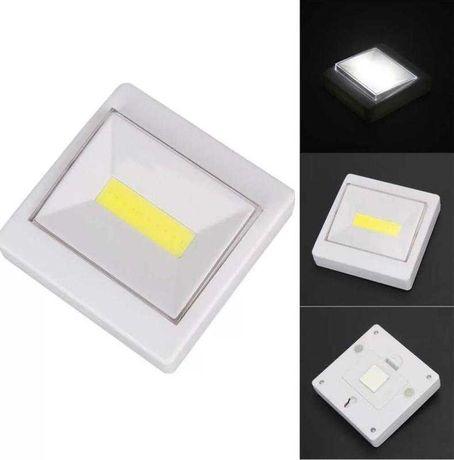LED Светильник Ночник-Выключатель на батарейках, с липучкой и магнитом