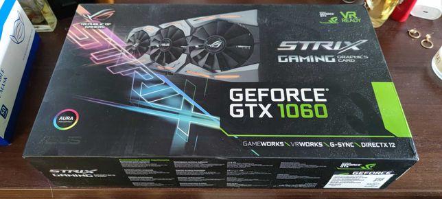 Видеокарта nVidia ASUS GeForce GTX 1060 6GB (ROG STRIX-GTX1060-O6G)