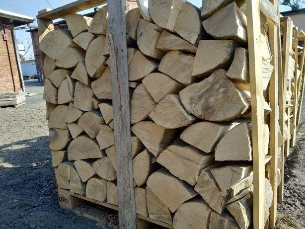 Drewno kominkowe opałowe buk transport gratis