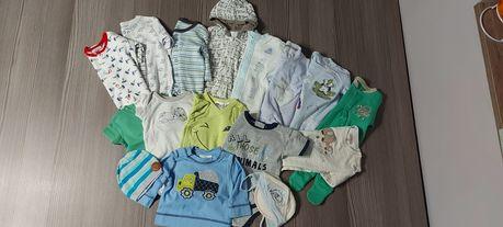 Paka ubranek newborn 56-62