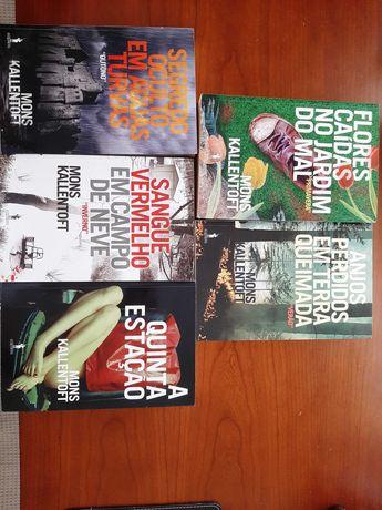 Mons Kallentoft 5 livros